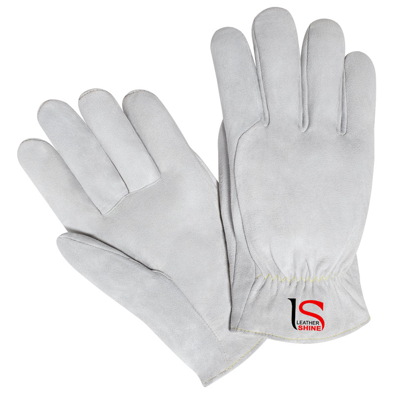 Driver Gloves in Split Leather