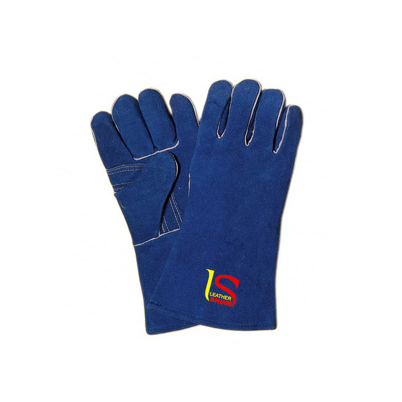 Welding Gloves Piping With Extra Plam